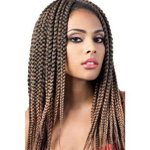 "Image of Motown Tress 14"" X 2 Pack Crochet Featherlite Pre loop Small Box Braid - African American Wigs"