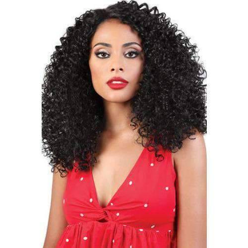 "Motown Tress 14"" X 2 Pack Crochet LockingLoop Sexy Curl 4in1 loop - African American Wigs"