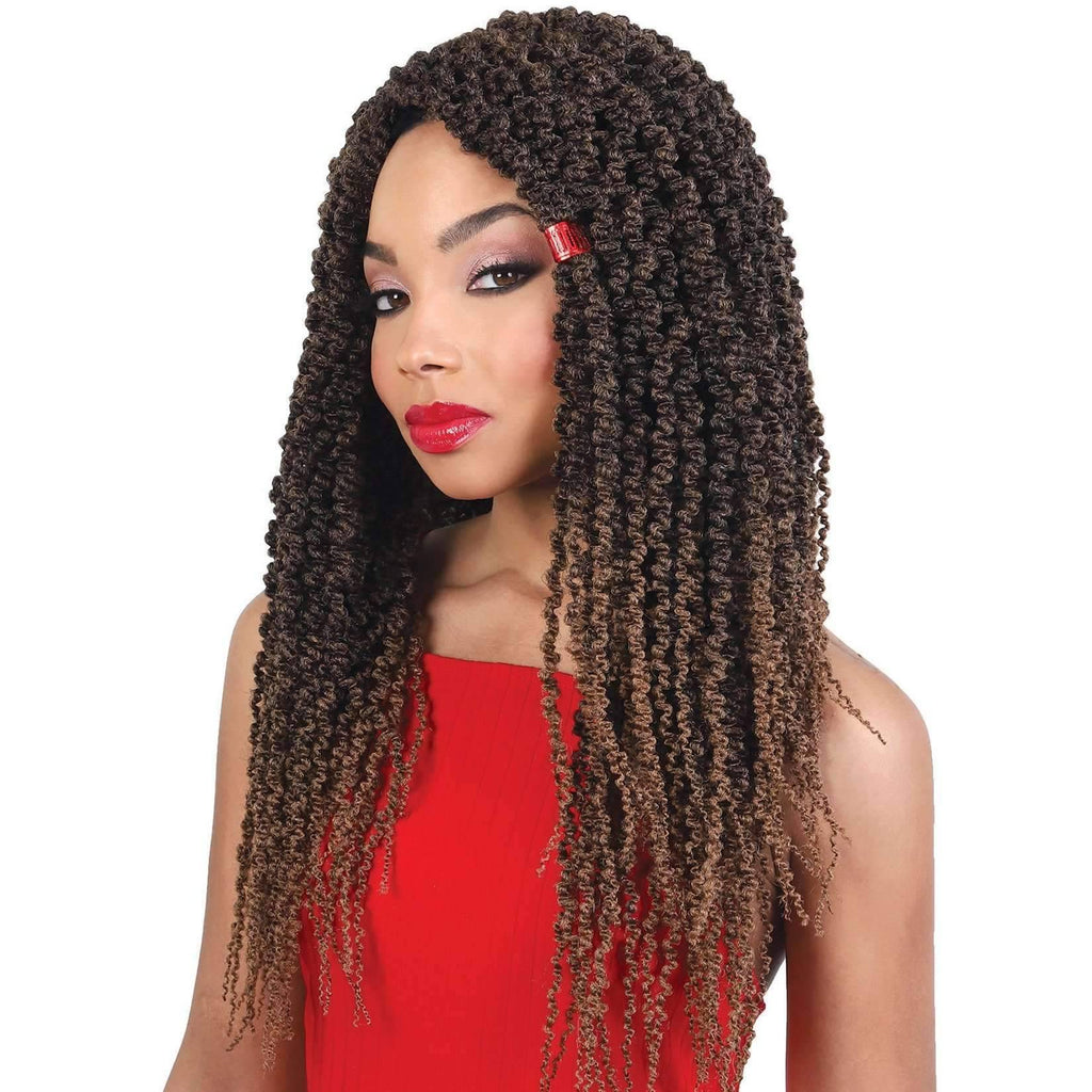 "Motown Tress 18"" X 3 Thin Passion Twist Braid - African American Wigs"