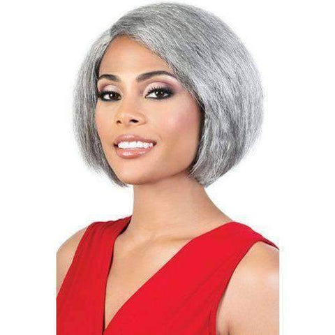 Image of Motown Tress Synthetic Silver Grey Hair Collection - S.JADA - African American Wigs