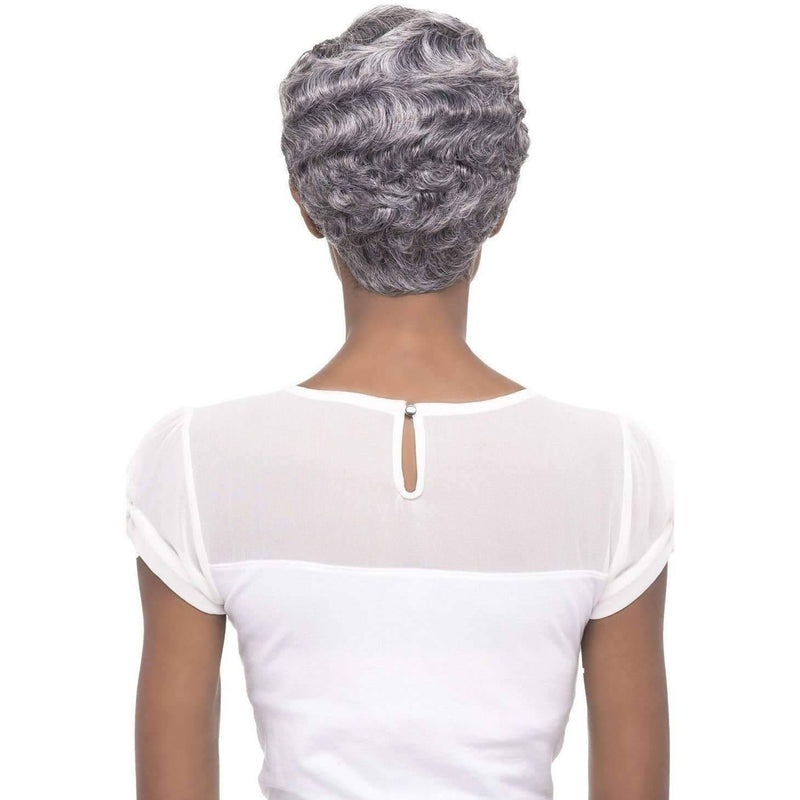 NICEY  Synthetic Short Finger Wave Wig - Vivica Fox - African American Wigs