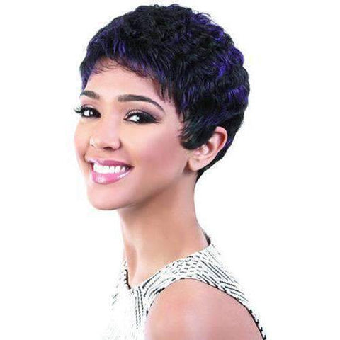 Image of Nikki - Short Length Curly Synthetic Wig | Motown Tress - African American Wigs