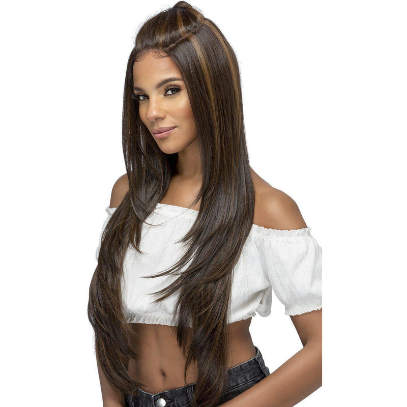 "NOELLE 32"" LAYERED STRAIGHT LACE FRONT WIG - Vivica Fox"