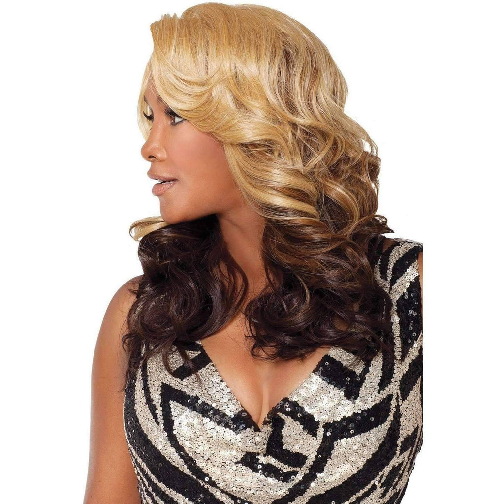 NOPOLI-V | Heat Resistant Synthetic Wig (Lace Front Traditional Cap) - African American Wigs