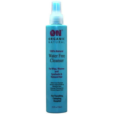 On Organic Natural 100% Natural Water Free Cleanser for Wigs, Weaves and Synthetic & Natural Hair 8 oz. - African American Wigs