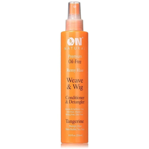 ON Organic Natural Premium Oil-Free Weave & Wig Conditioner & Detangler Tangerine 8.0 fl oz - African American Wigs