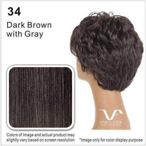 OPRAH-2-V | Synthetic Wig (Traditional Cap) - African American Wigs