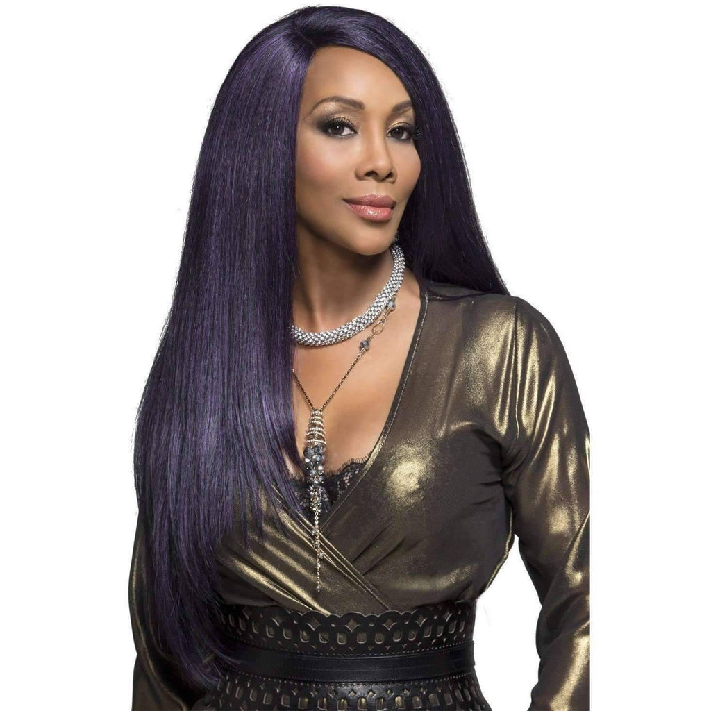 PAVIOLA | Heat Resistant Synthetic Wig (Lace Front Traditional Cap) - African American Wigs