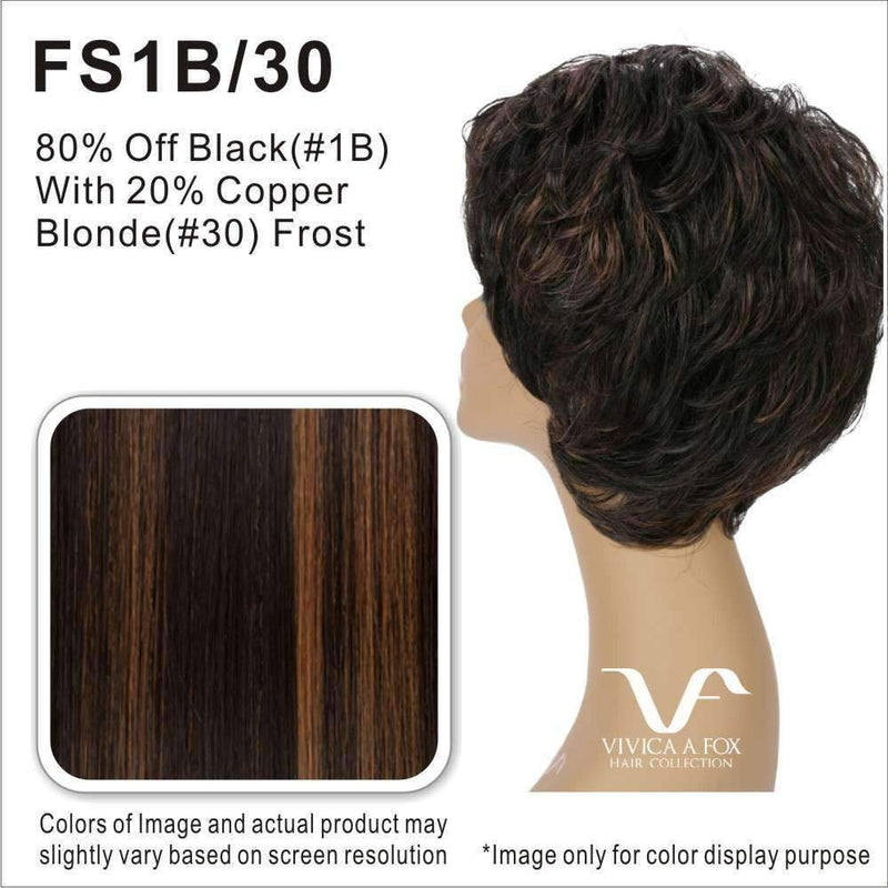 PB-CROCUS | Synthetic Heat Resistant Bang & Ponytail (Honeycomb Base) - African American Wigs