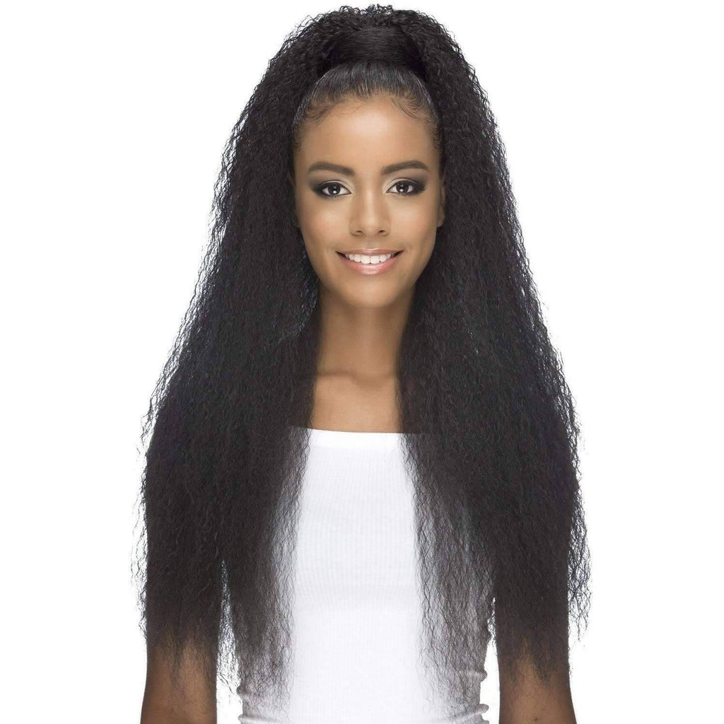 PB-MAIAR | Synthetic Heat Resistant Bang & Ponytail (Honeycomb Base) - African American Wigs