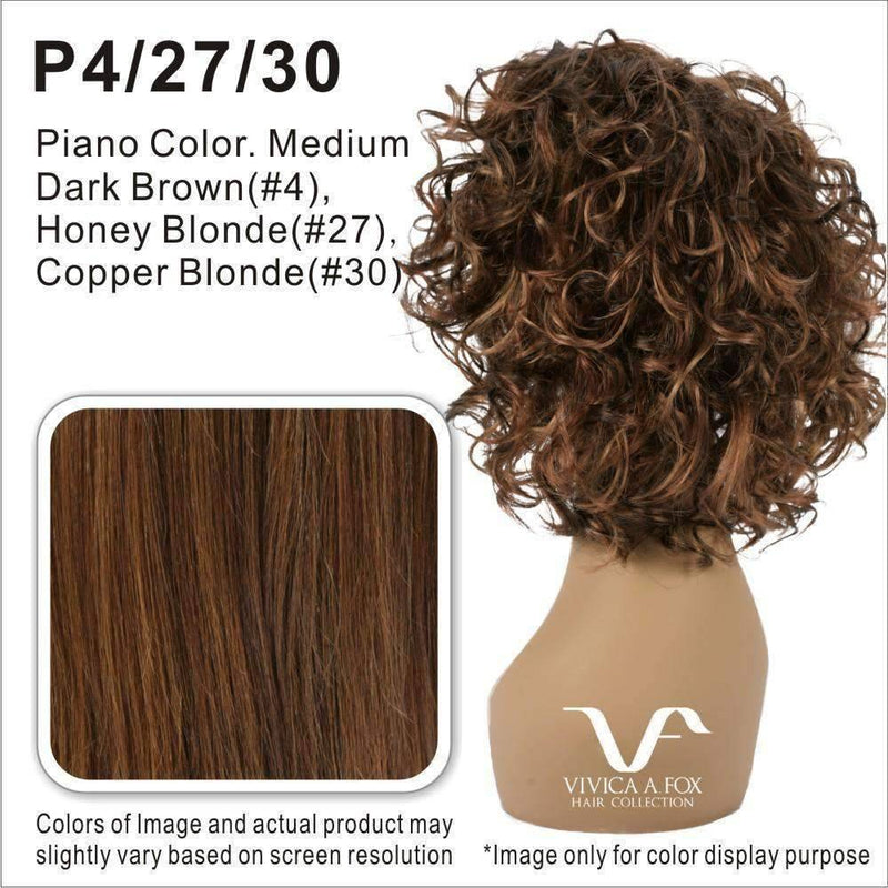 PB-RAINBOW-V - Vivica Fox Synthetic Wig in Color #P4/27/30 - African American Wigs