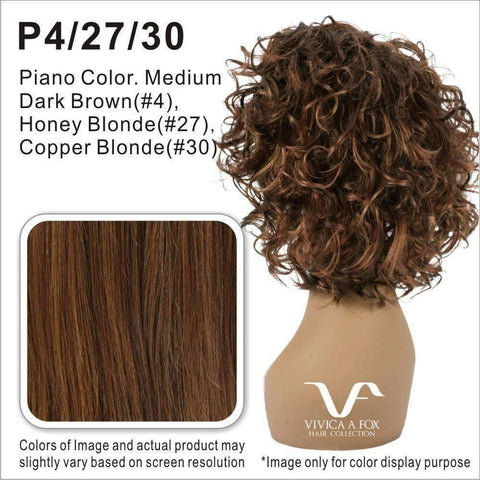 Image of PB-RAINBOW-V - Vivica Fox Synthetic Wig in Color #P4/27/30 - African American Wigs