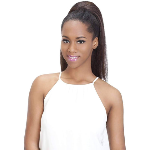 "Pocket Bun Alice  | 19"" Heat Resistant Synthetic Extension (Honeycomb Base) - African American Wigs"