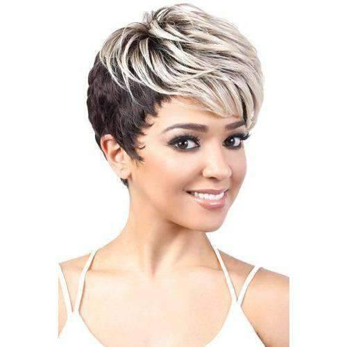 Polar - Short Length Wavy Synthetic Wig | Motown Tress - African American Wigs