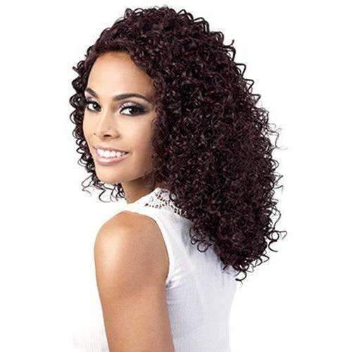 Poppy - Long Length Curly Synthetic Wig | Motown Tress - African American Wigs