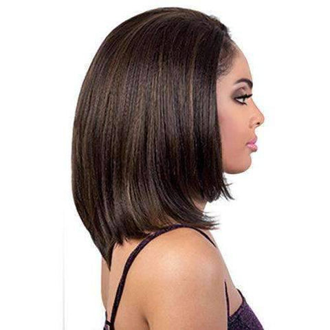 QE.Dash - Medium Length Straight Synthetic Half Wig | Motown Tress - African American Wigs
