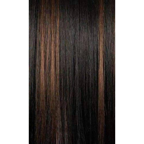 QE.Erika - Long Length Straight Synthetic Half Wig | Motown Tress - African American Wigs