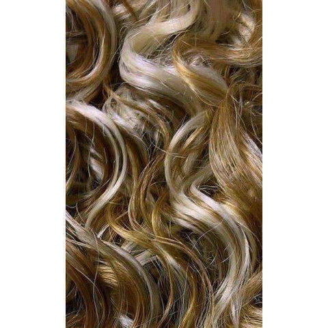 QE.SABLE - Long Length Curly Synthetic Wig | Motown Tress - African American Wigs