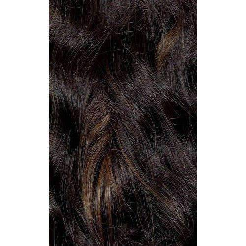 QE.Tanika - Medium Length Wavy Synthetic Half Wig | Motown Tress - African American Wigs