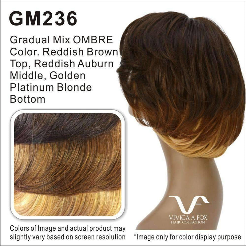 QUEENIE-V | 100% Remi Human Hair Wig (Lace Front Traditional Cap) - African American Wigs