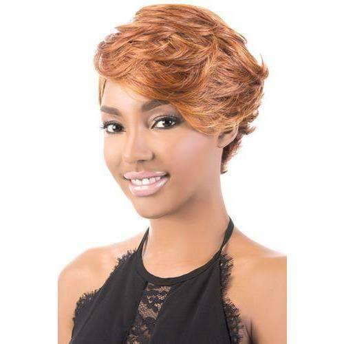 REBECCA | Heat Friendly Synthetic Wig (Traditional Cap) - African American Wigs