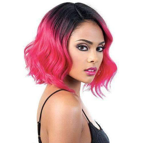 Image of Riri - Medium Length Wavy Synthetic Wig | Motown Tress - African American Wigs