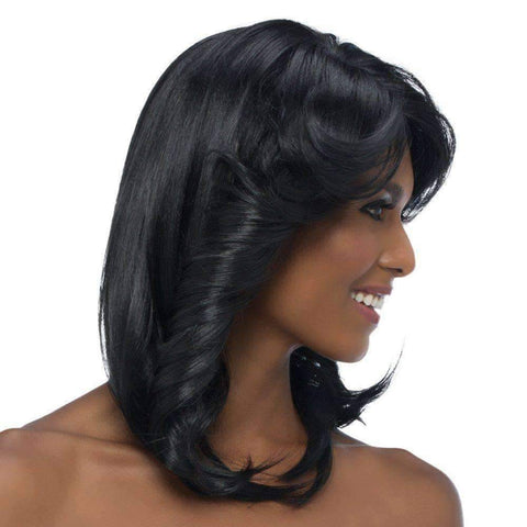 Image of Ronna - Vivica Fox Synthetic Wig in Color #1B - African American Wigs