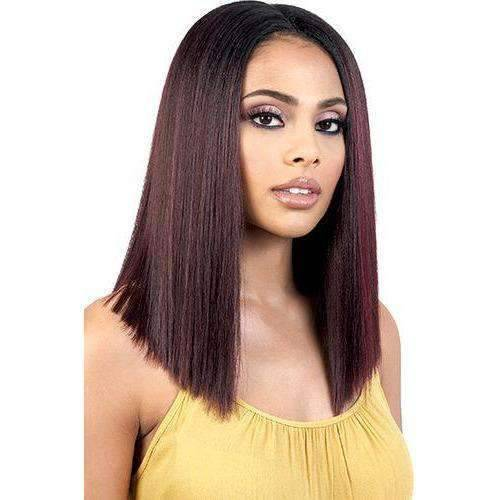 RUDI-Motown Tress Lace Front Blunt Wig Synthetic - African American Wigs