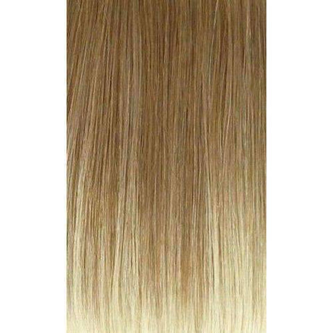 S KISHA Medium Straight Synthetic Wig Motown Tress Synthetic Silver Grey Hair Collection - African American Wigs
