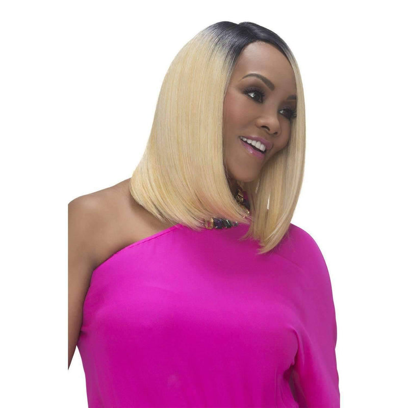 SANDRA | Heat Resistant Synthetic Wig (Lace Front Traditional Cap) - African American Wigs