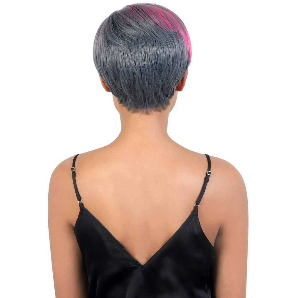 SASSY - Short Length Straight High Quality Synthetic Wigs| Motown Tress - African American Wigs