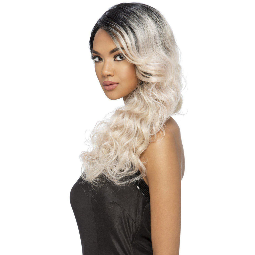 "SEMELE 25"" LAYERED BODY WAVE WITH EAR TO EAR LACEFRONT WIG - Vivica Fox"