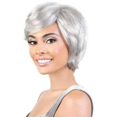 Image of SH.EVELYN - Short Length Straight Human Hair Wig | Motown Tress - African American Wigs