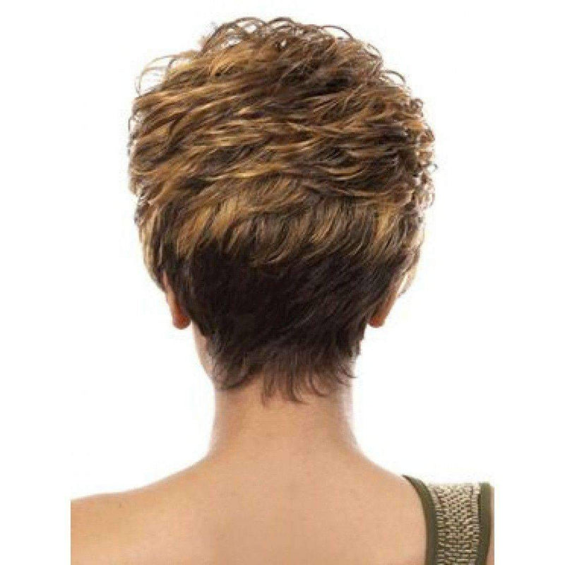 Shila-Motown Tress Synthetic Full Wig Hair Wig Short - African American Wigs