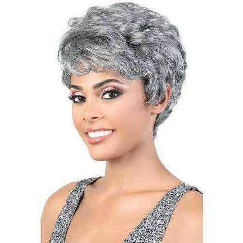Image of SH.KENDA - Short Length Curly Human Hair Wig | Motown Tress - African American Wigs