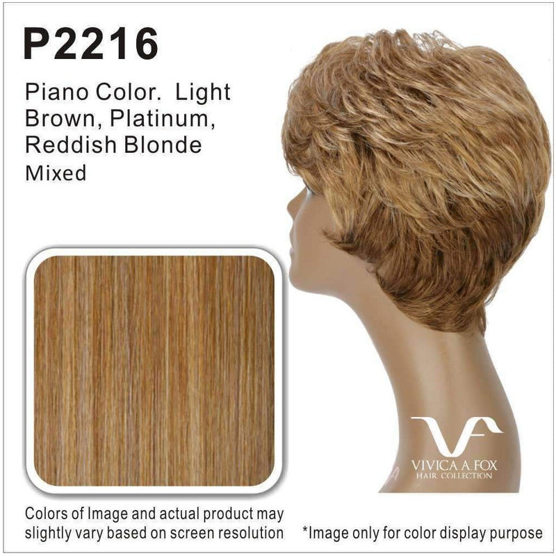 SILVER-V | Heat Resistant Synthetic Wig (Traditional Cap) - African American Wigs