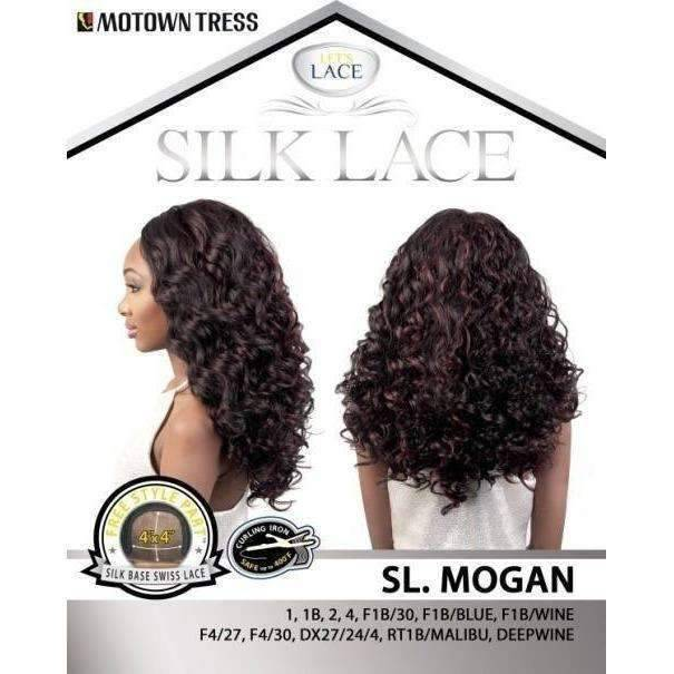 SL. MOGAN | Heat Friendly Synthetic Wig (Lace Front Traditional Cap) - African American Wigs