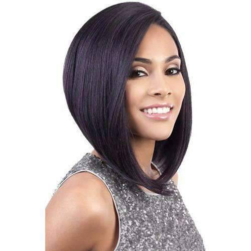 SL. YUNI | Heat Friendly Synthetic Wig (Lace Front Traditional Cap) - African American Wigs