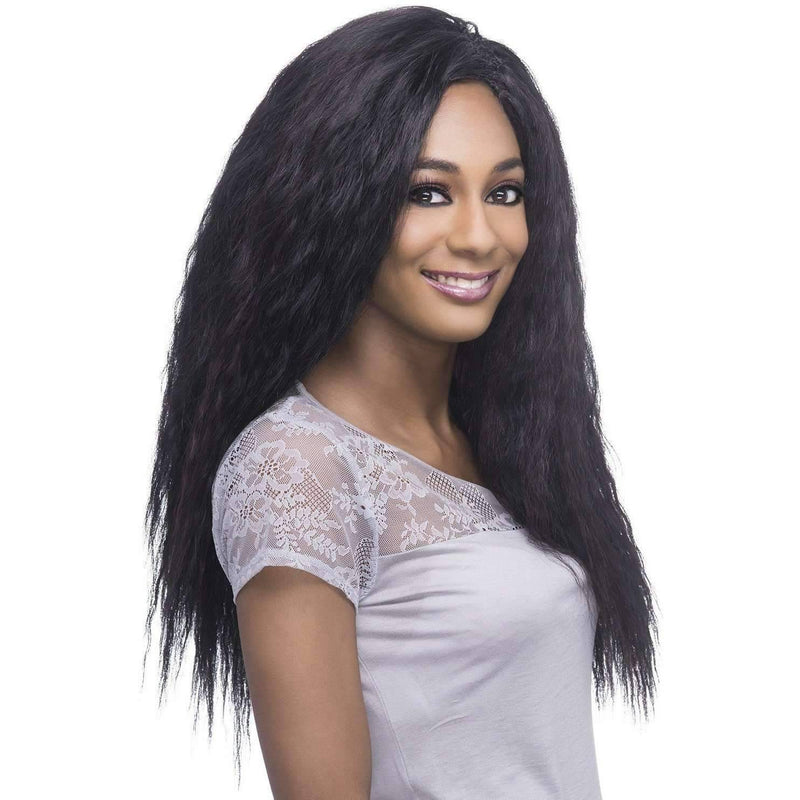 "Spanish Wave LoveLock | 18""  Human Hair Blend - African American Wigs"
