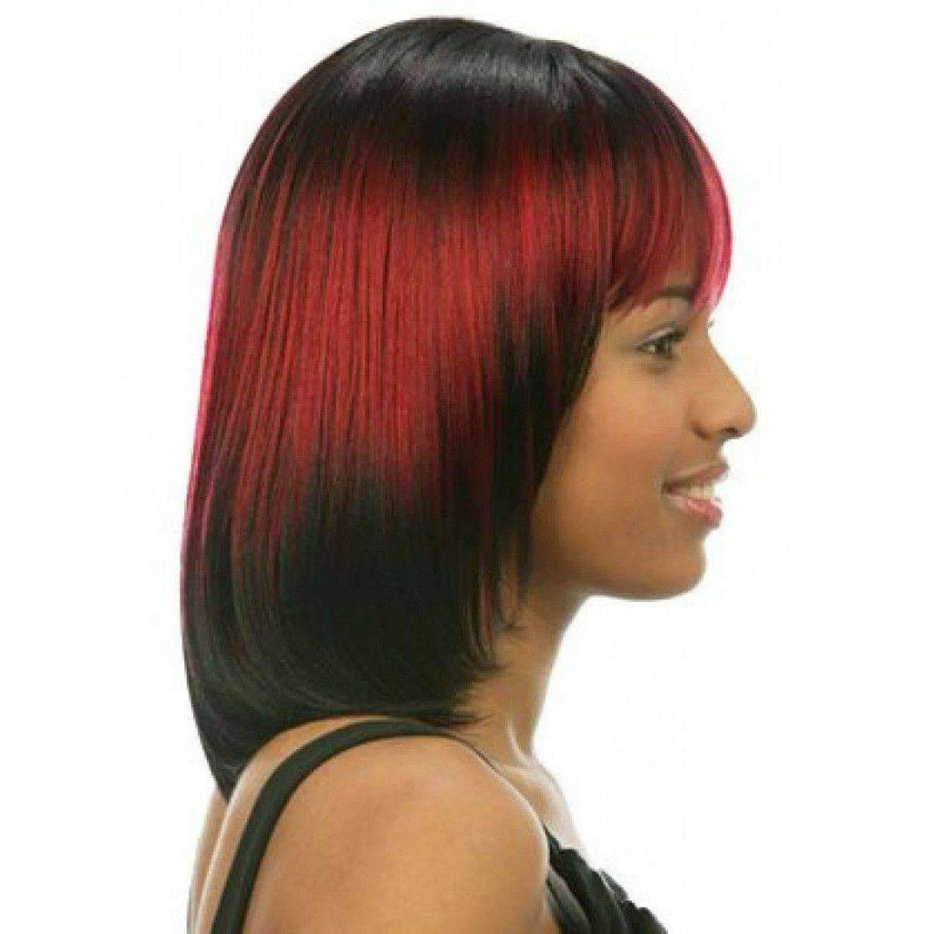 Stripy-Motown Tress Synthetic Hair Wig Long - African American Wigs