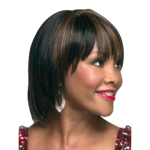 Image of Suzie - Vivica Fox Synthetic Wig in Color #1B - African American Wigs
