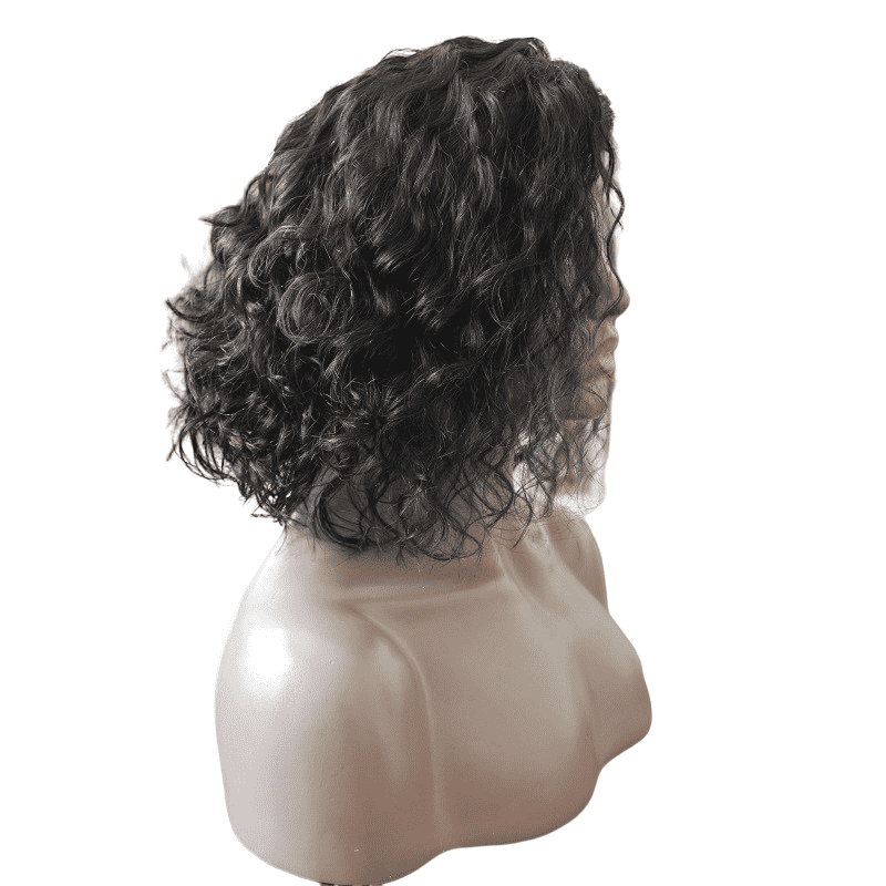 "Tanisha | Water Wave Bob 13 X 4"" Frontal Human Hair Wig  