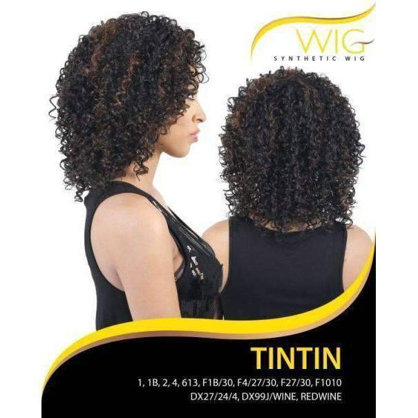 TINTIN | Synthetic Wig (Traditional Cap) - African American Wigs