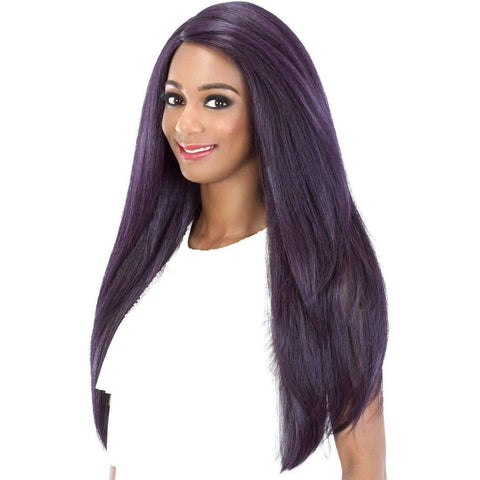 Image of TWILIGHT  Synthetic Layered Yaki Straight Style Wig - Vivica Fox - African American Wigs