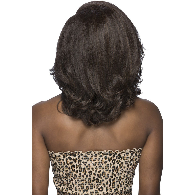 "UBA | 14"" LAYERED LOOSE CURL ENDS&SIDE VOLUME BANG WITH INVISIBLE (LEFT)"
