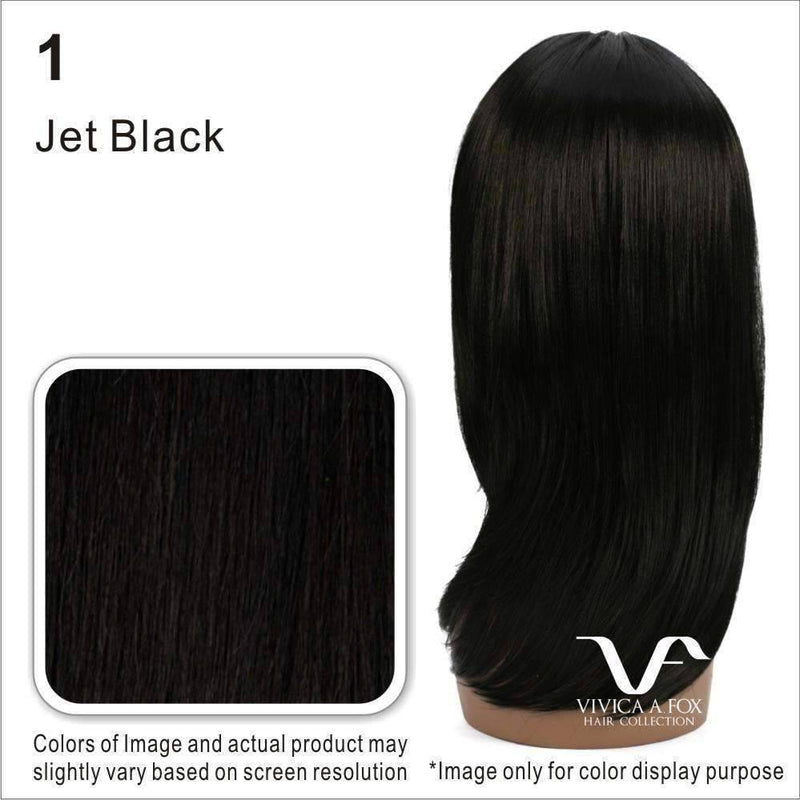 Vanilla-Water Wave Remi Brazilian Human Hair Lace Front Wig | Vivica Fox - African American Wigs