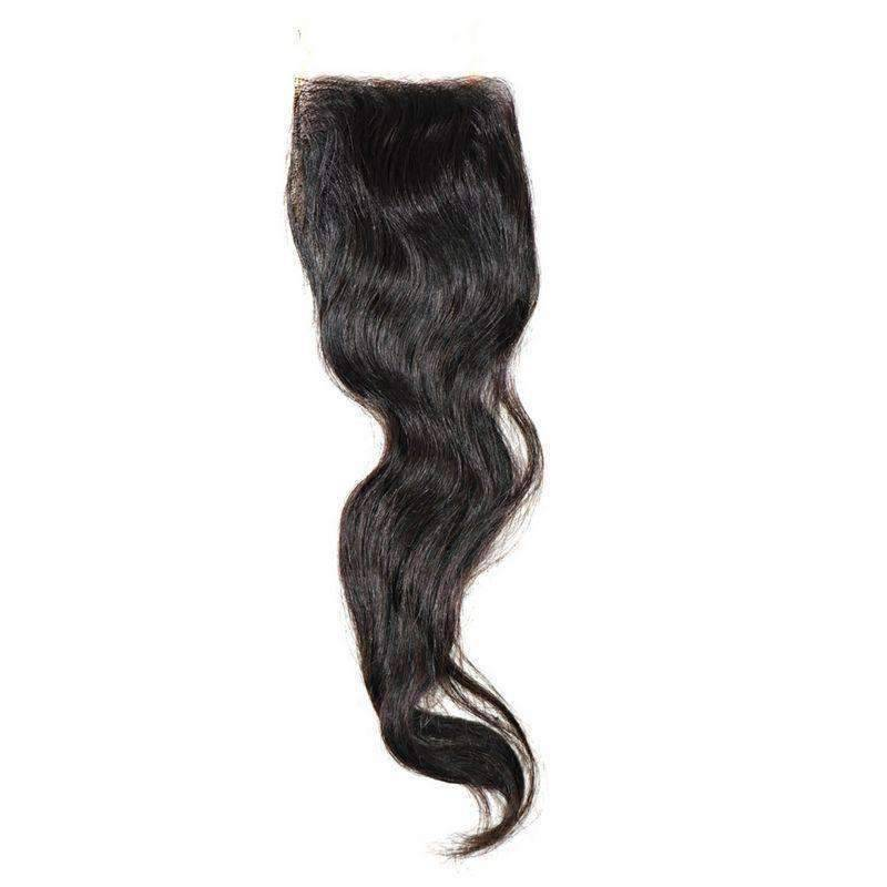 Vietnam Natural Wave Closure - African American Wigs
