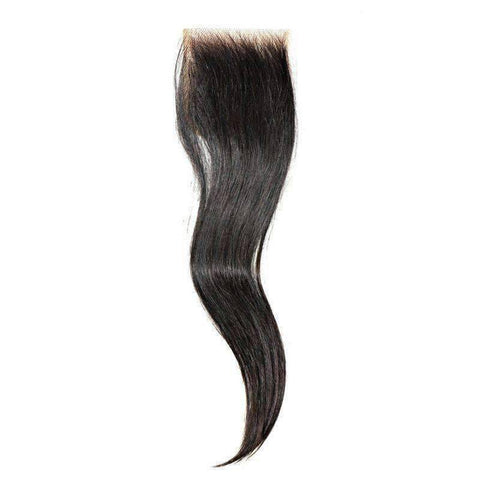 Vietnam Straight Closure - African American Wigs