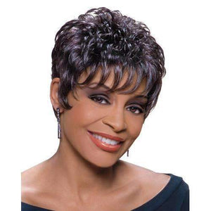 VIOLA - Foxy Silver Synthetic Wig in Color #280 - African American Wigs