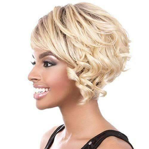 Vivaldi-Motown Tress Synthetic Full Wig Hair Wig Short - African American Wigs